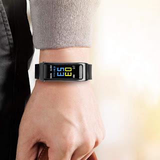 smart braccialetto colcori shermo bluetooth
