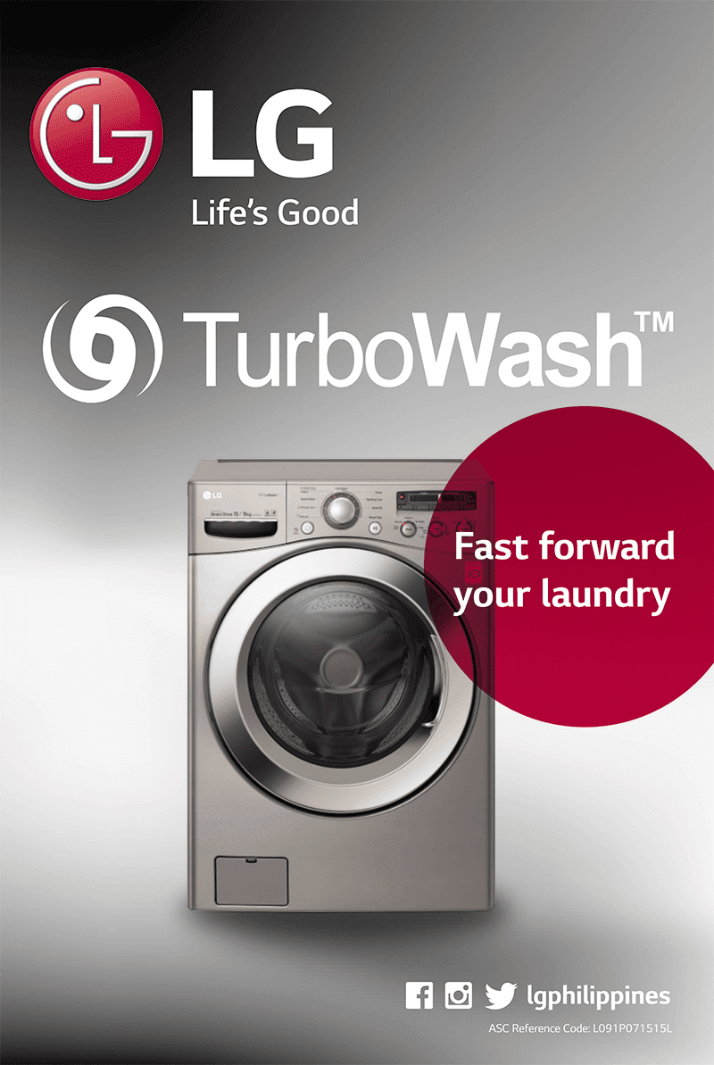 Beat Loads Of Laundry Quickly With LG's Amazing Turbo Washers!