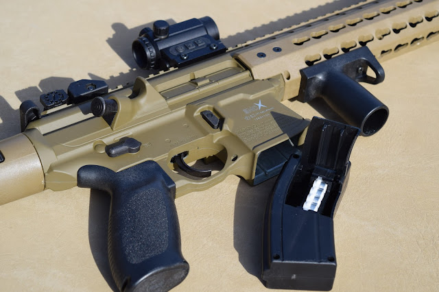 How to clear a jam on the SIG MCX air rifle