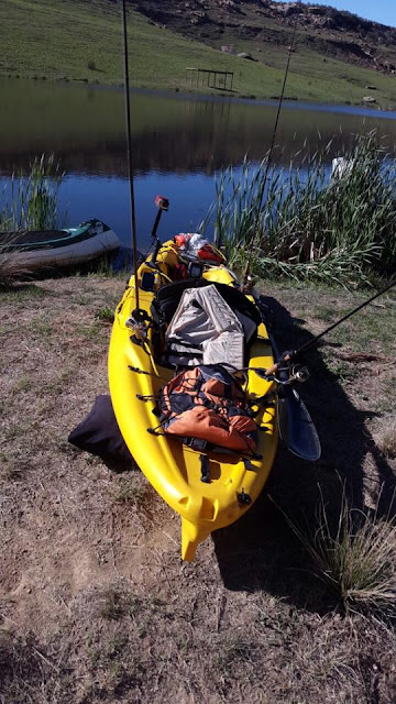 Freshwater angling with Makara Legend Kayak