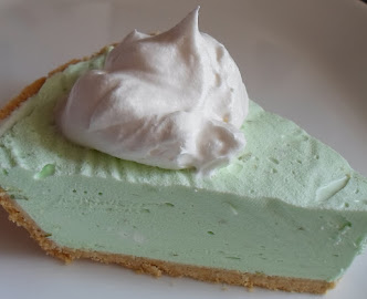 no-bake diabetic friendly jello key lime pie