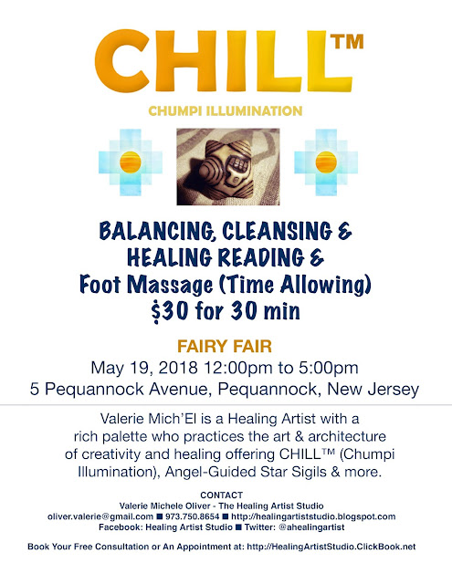 Experience CHILL (Chumpi Illumination) at New Jersey Event on May 19, 2018