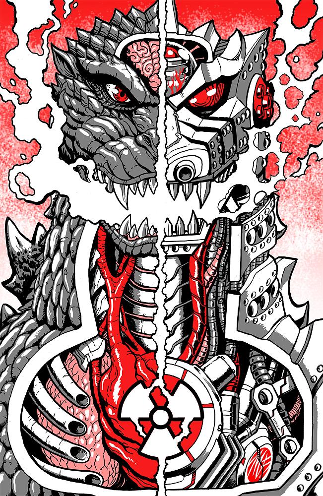 Matt Frank (US) - Godzilla poster