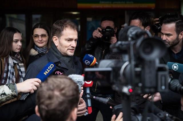 Szlovák választások - Tarolt az ellenzék, a jobboldali OLaNO nyert a nem hivatalos végeredmények szerint