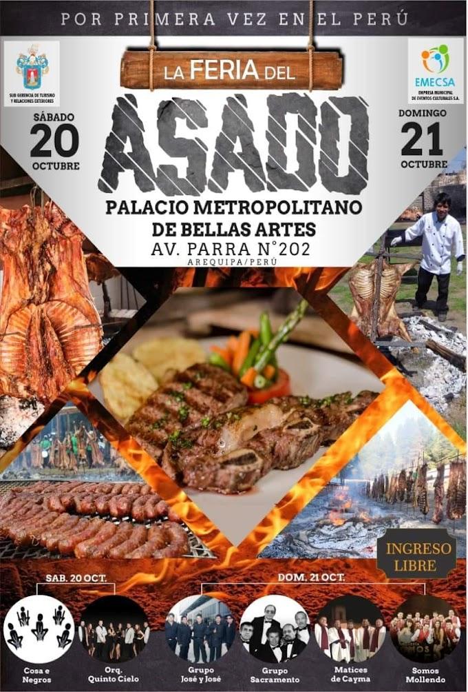 Feria del asado, Arequipa 2018, 20 y 21 de octubre