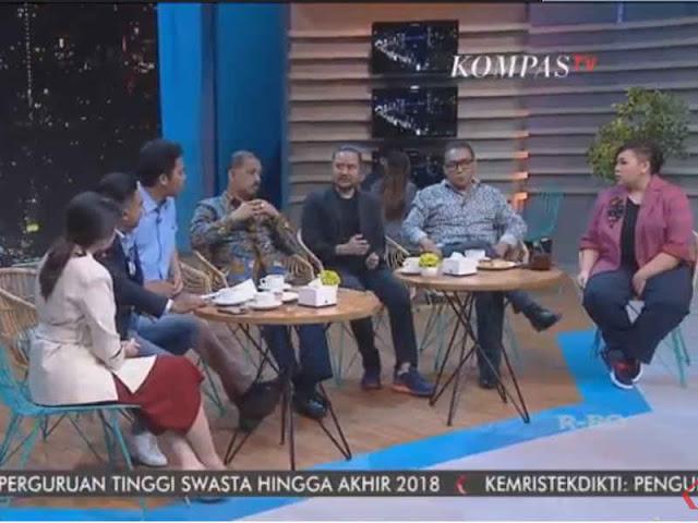 Syafiq Pontoh dan Ngopi Kompas TV Minta Maaf