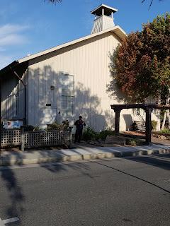 Chautuaqua Hall at Pacific Grove California