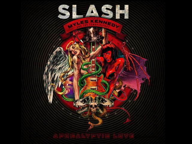 Slash copertina Apocalyptic Love