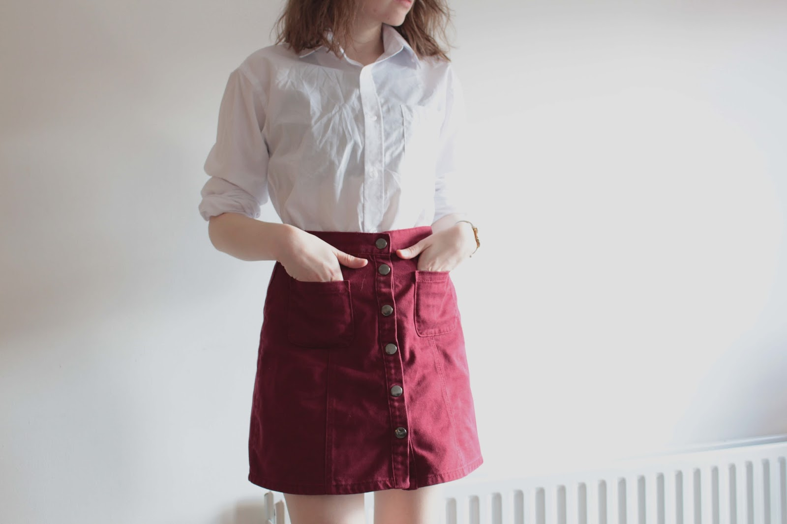 trend crush a line skirts how to style