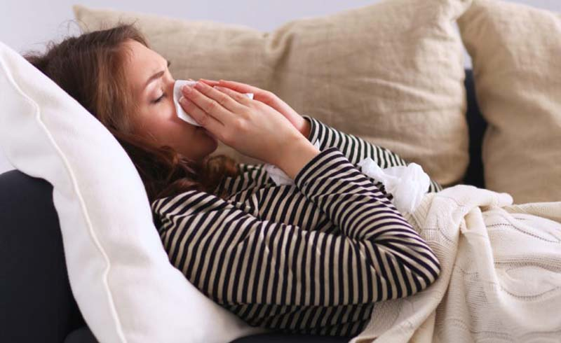 flu, healthy living tips