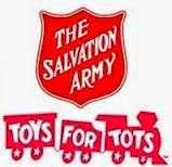 Community Voice Summit Salvation Army Toys For Tots 2013
