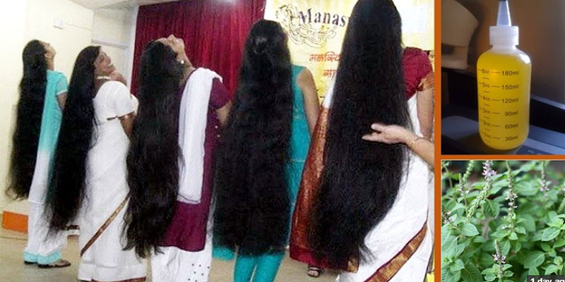 How to get thick and long hair fast