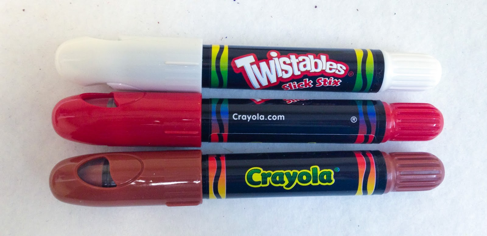 12 Count Crayola Twistable Slick Stix Whats Inside The Box - Crayola-slick-stix