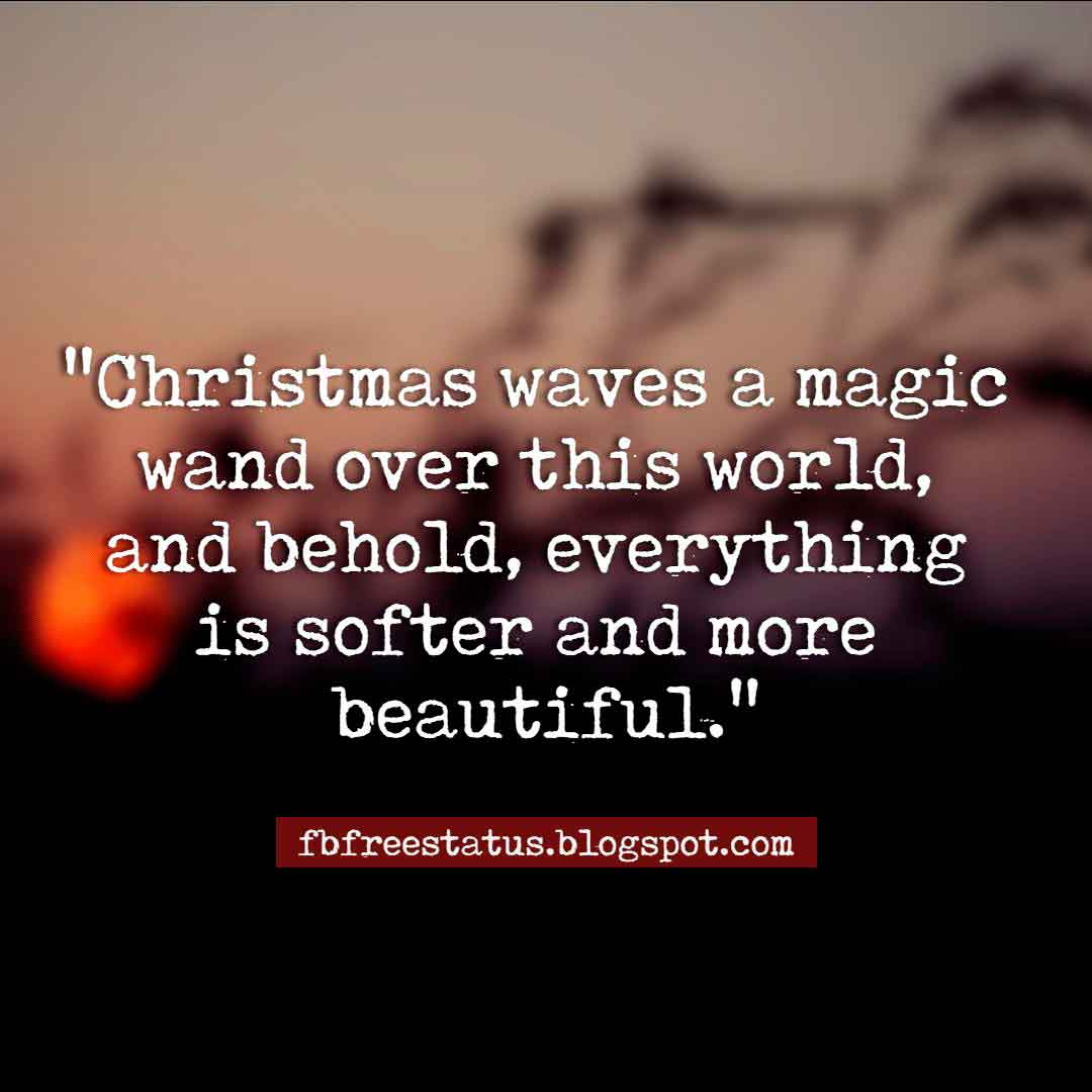 Christmas inspirational thoughts with images