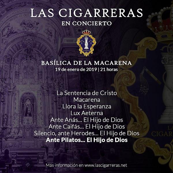 """Estreno de """"Ante Pilatos...el Hijo de Dios"""" por la CCTT de Las Cigarreras"""