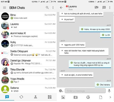 BBM Mod IOS Light v10 BBM Base v3.0.0.18 Apk