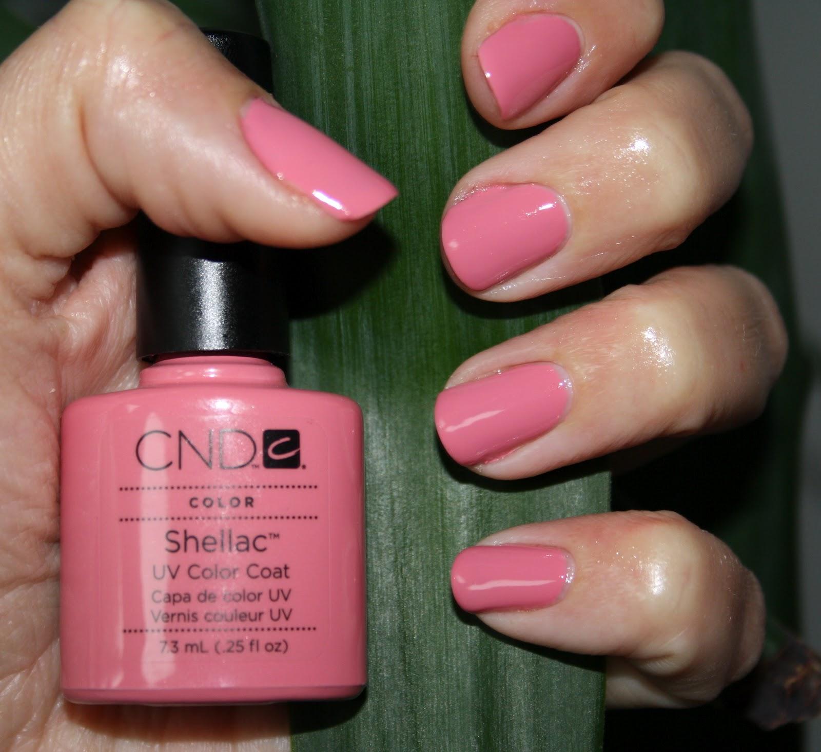 Das Beautytagebuch: [Notd] CND Shellac Rose Bud