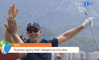 Glory Hole ollimpico en golf