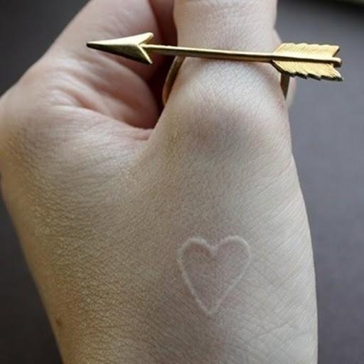 Puros de coracao tatuagem