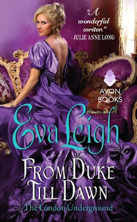 romance novel covers, historical romance, From Duke Till Dawn by Eva Leigh