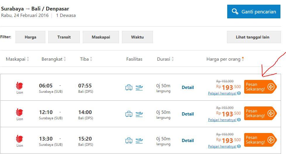 Cara Membeli Tiket Di Traveloka Dengan Metode Pembayaran