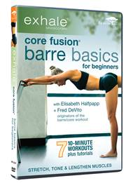 DVD Review - Exhale: Core Fusion Barre Basics for Beginners