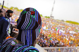 Pictures from PDP Presidential Rally in Benue State.