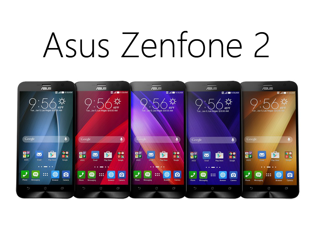 Asus Zenfone 2 Announced: 64-bit Quad-Core, 4GB RAM, LTE Cat 4, 13MP Camera