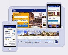 圖說: 飯店旅社訂房平台可讓消費者透過網站、平板或手機APP來快速找到符合預算與各種條件下的飯店或自營旅社, 圖片來源: Booking.com 截圖
