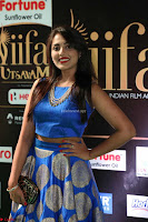 Madhu Shalini Looks Super Cute Slim trim Blue Choli Ghagra IIFA Utsavam Awards 045.JPG