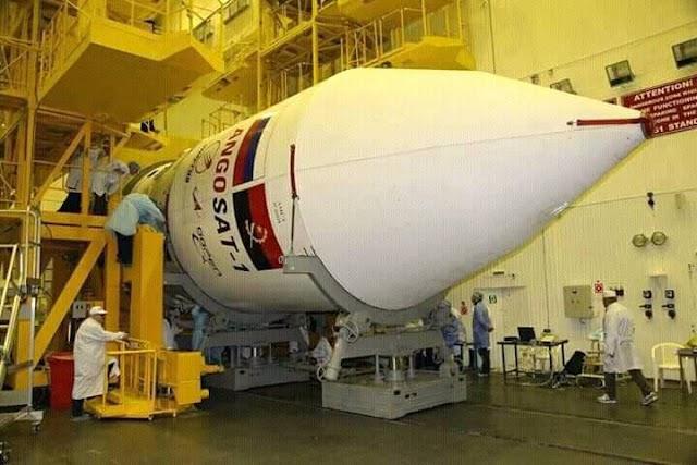 26 de Dezembro de 2017 Lançamento do AngoSat-1