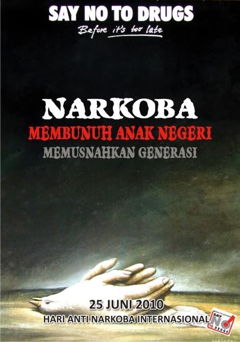 Contoh Poster Narkoba  DAMPAK BAHAYA NARKOBA