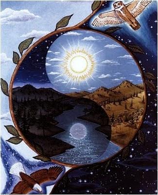 Resultado de imagen de balanza del yin y el yang
