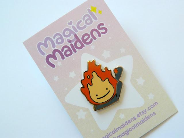 Magical Maidens Pins