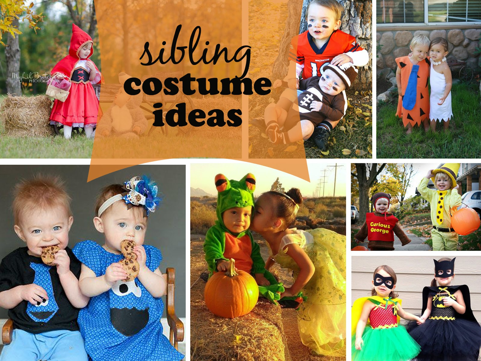 Cute Sibling Costume Ideas  sc 1 st  One Whimsy Lane & Cute Sibling Costume Ideas - One Whimsy Lane