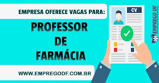 Professor de Farmácia