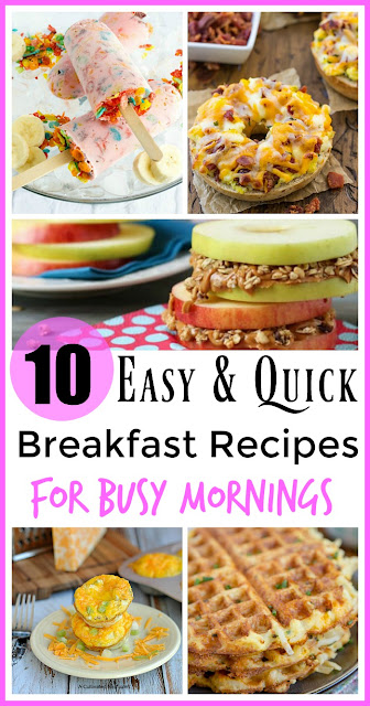 10 Easy Breakfast Recipes For Busy Moms