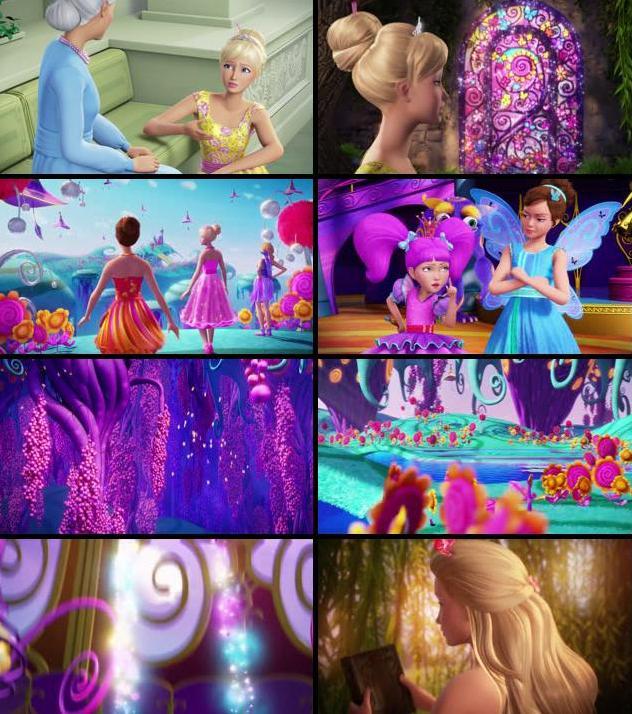 Barbie And The Secret Door 2014 Dual Audio Hindi