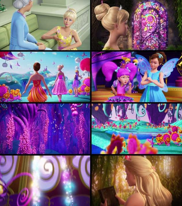 Barbie And The Secret Door 2014 Dual Audio Hindi 480p BluRay