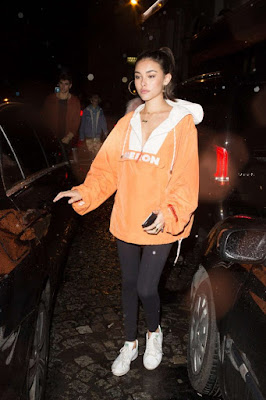 Madison Beer at a night club in Paris