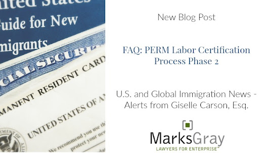 FAQ Series on PERM Labor Certification is Now Available for Download