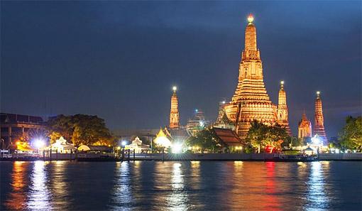 Famous Bangkok Temple Architecture