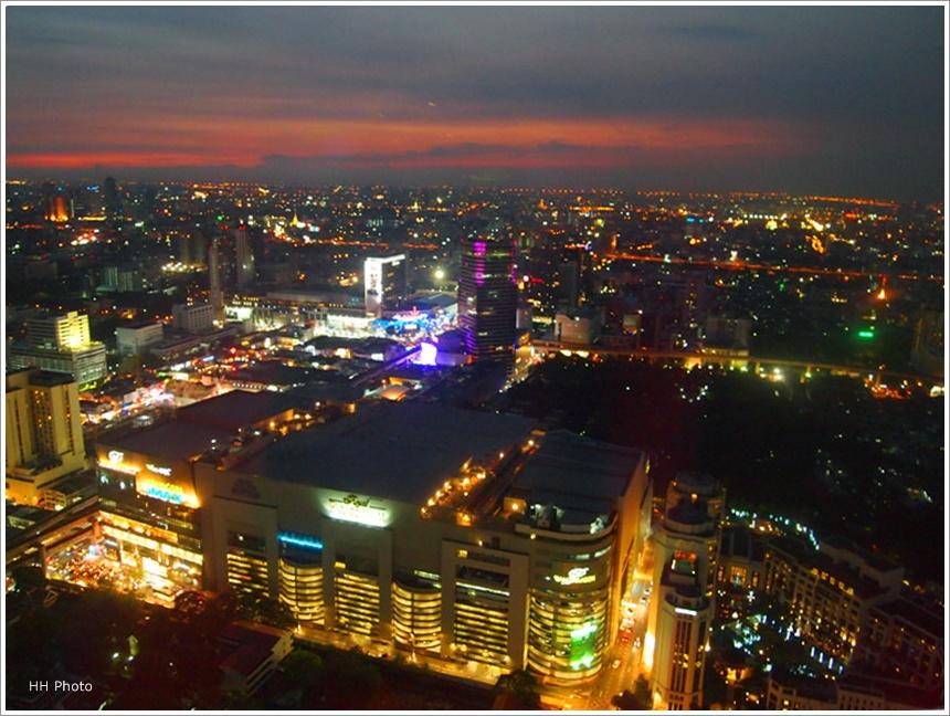 曼谷 Red Sky Bar - HH BLOG
