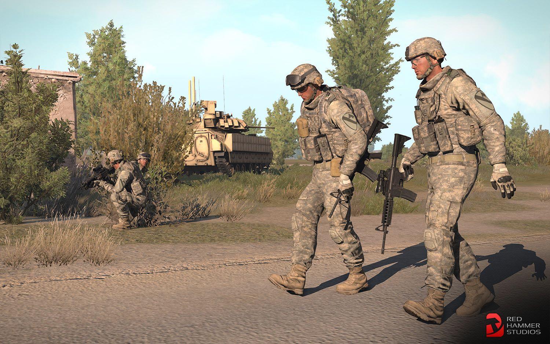 Arma 3 へ高品質なロシア連邦軍とアメリカ軍を実装する RHS: Escalation