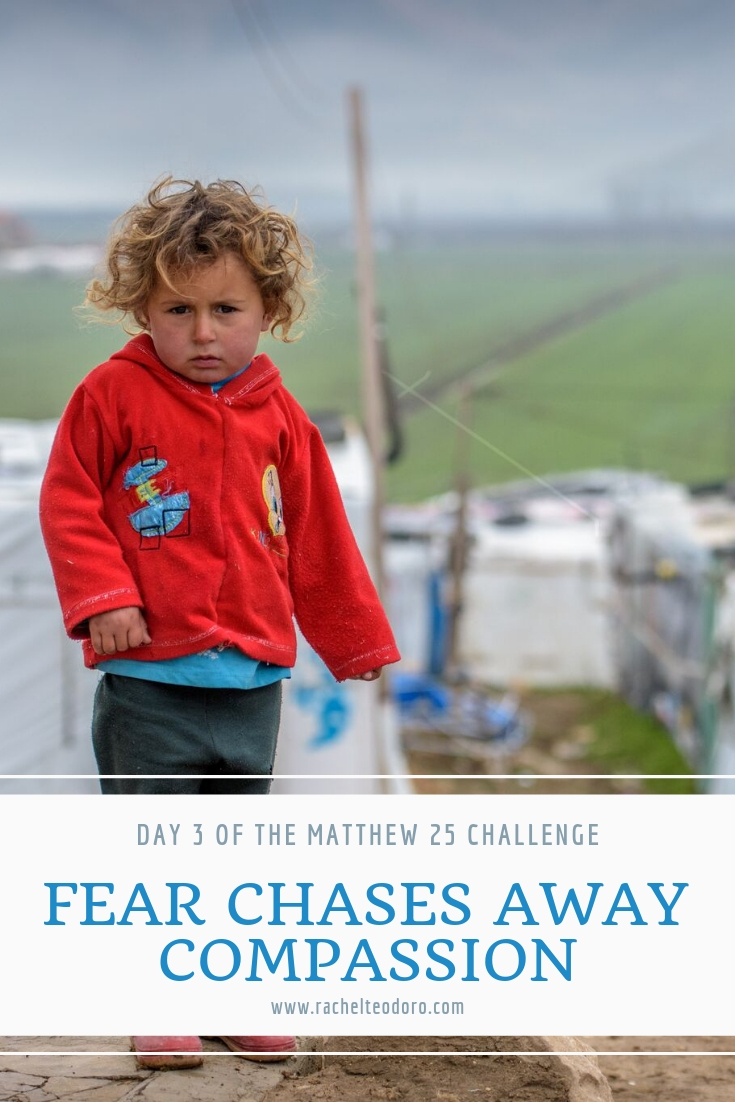 refugee camp in syria child