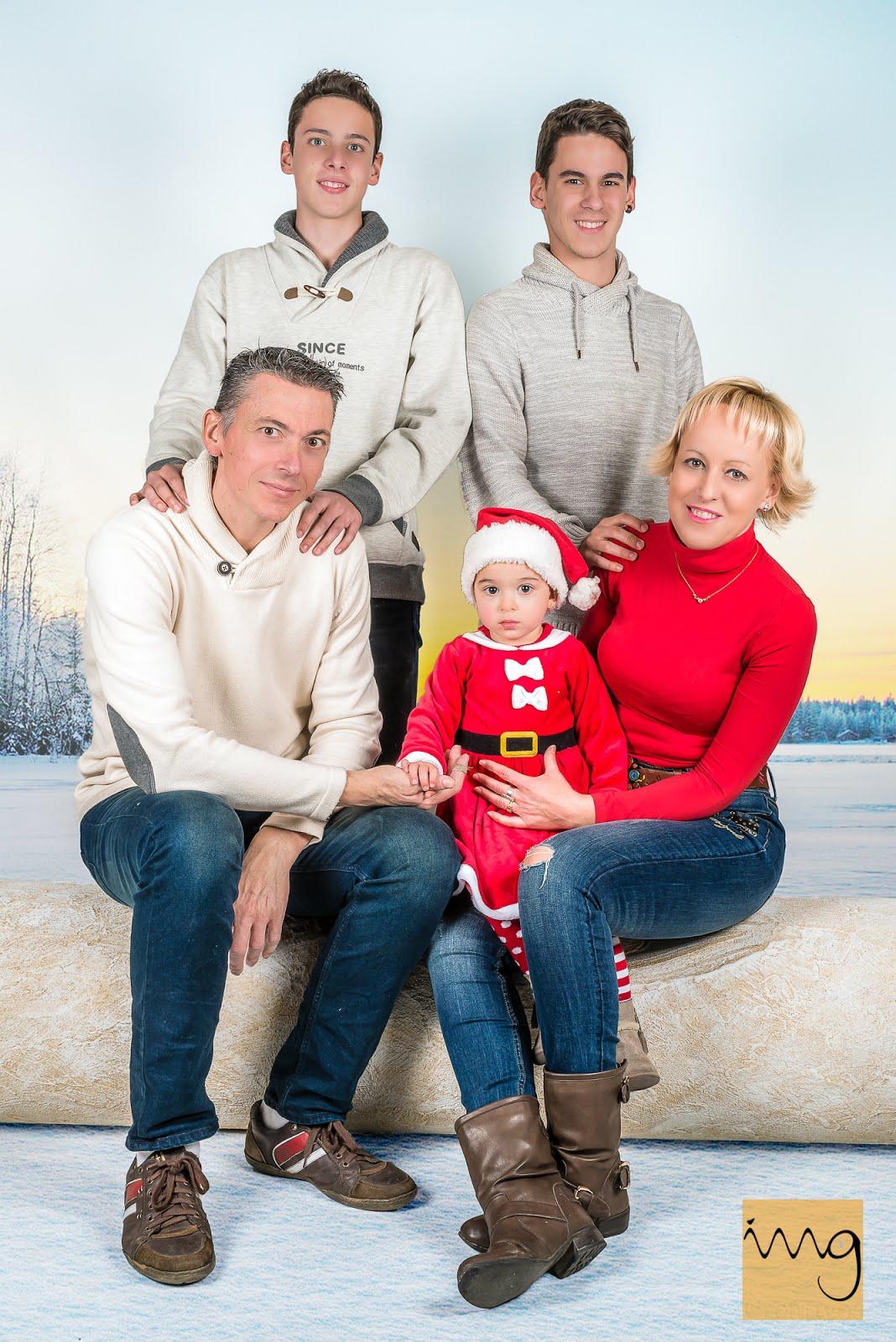 Retrato de Navidad en Familia Granada
