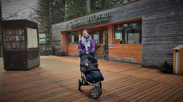 Můj fialový svět blog Bavorský les Baumwipfelpfad Stezka v korunách stromů