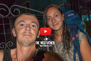 Weltreise Abbruch der Wegsucher Katja verlässt Arkadij traurige Trennung