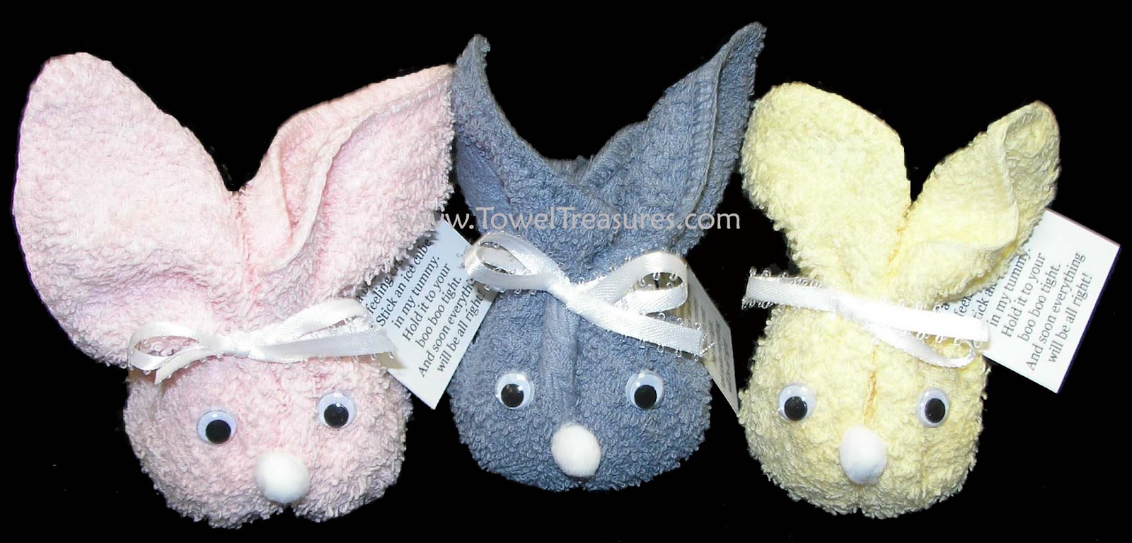 Wash cloth bunny crafthubs holiday decor 10 easter craft ideas house furniture negle Choice Image
