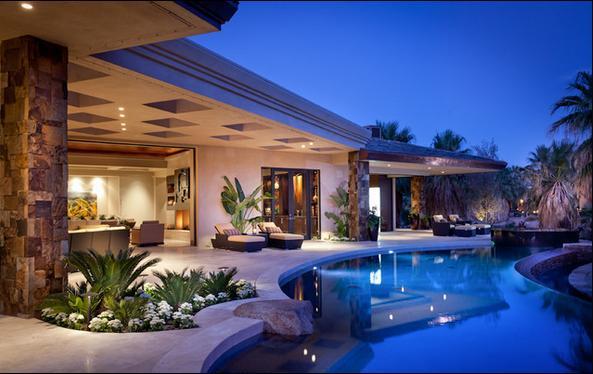 Fotos de terrazas terrazas y jardines casas terrazas bonitas for Casa moderna jardines